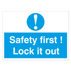 Lockout Stickers & Labels