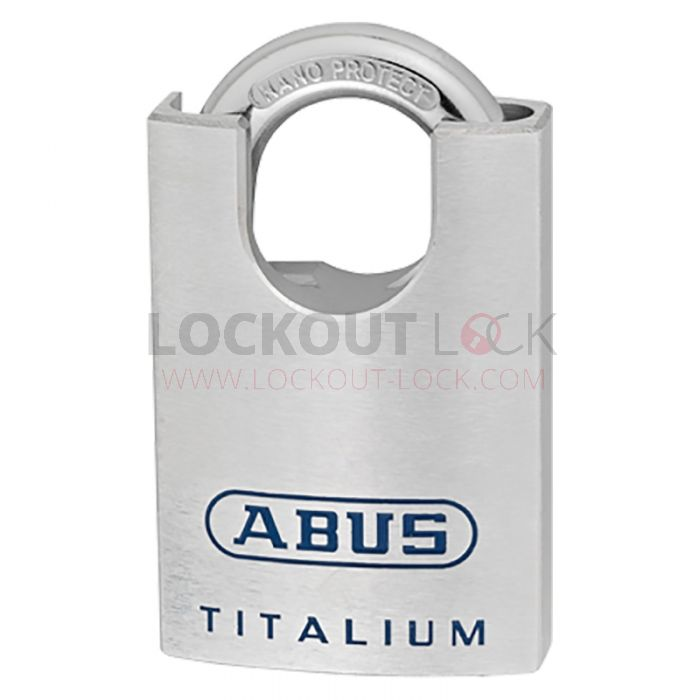 Abus 90RK//50 Titalium Padlock Closed Stainless Steel Shackle