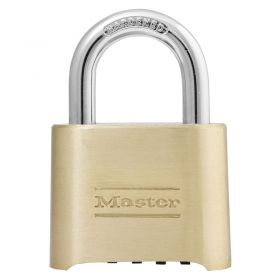 Masterlock 175EURD Solid Zinc Combination Padlock w/ Size Choice