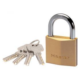 Masterlock 29 Series Brass Padlocks w/ Steel Shackle