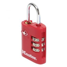 Masterlock 4686EURT TSA-Certified Padlock for US Airports
