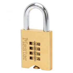 Masterlock 651EURD Brass Combination Padlock