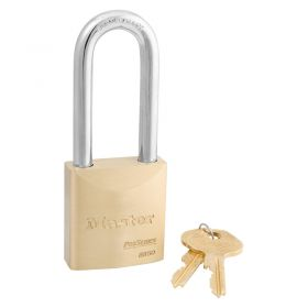 Masterlock 6850LJ Brass Pro Series Padlock w/ Key Choice