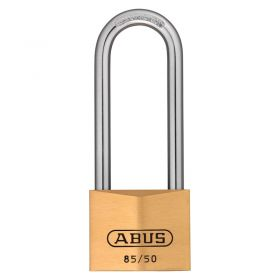 ABUS 85/50HB Long Shackle Brass Padlocks