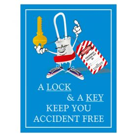 A Lock and A Key Poster
