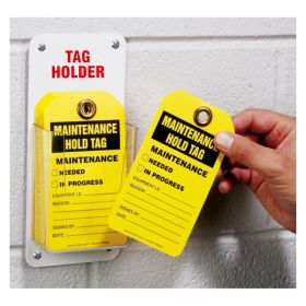 Lockout Tags Holder Holds 20 Tags