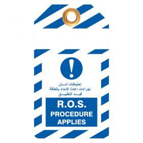 ROS Procedure Applies Pack of 10