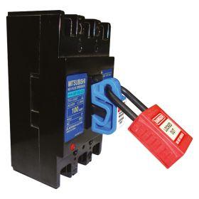 Universal Miniature Circuit Breaker Lockout Blue