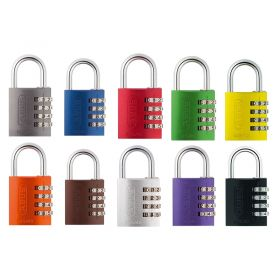 ABUS 145 Rainbow Combination Padlocks