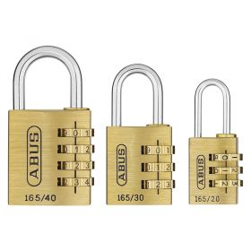 ABUS 165 Brass Combination Locks