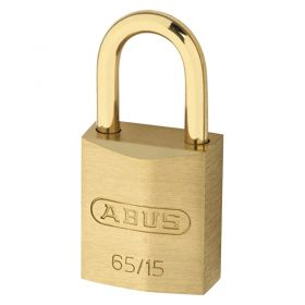 ABUS 65MB Brass Padlocks with Brass Shackles