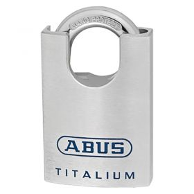 ABUS 96CSTI/60 TITALIUM™ Padlocks with Shackle Guard - Front View