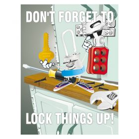 Dont Forget to Lock Things Up Poster