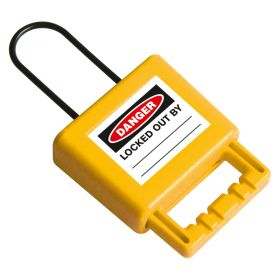 Non-Conductive Group Lockout Hasp (3mm) - Yellow