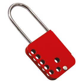 Marine-Grade Heavy-Duty Stainless Steel Lockout Hasp - 7 Hole