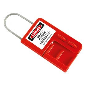 Premier Lockout Hasp with Warning Label – 4 Hole - LT-34LH