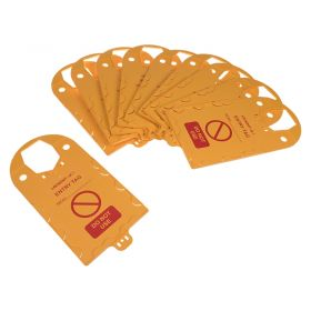 Confined Space Entry Tag Holder Pack of 10