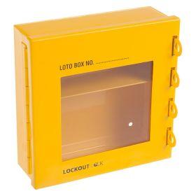 Multipurpose Lockout Station Key Document Holder 4 Lock Hole