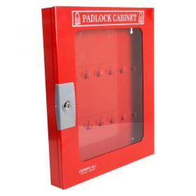 Padlock Cabinet with Clear Fascia 42 Locks