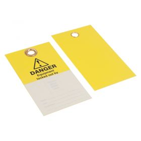 Danger Equipment Locked Out By Photo ID Pack of 10