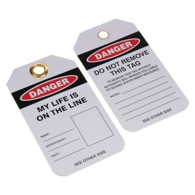 Danger My Life is on the Line Photo Space Pack of 10 1