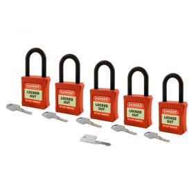 Fully Insulated Nylon Padlock - Master Key