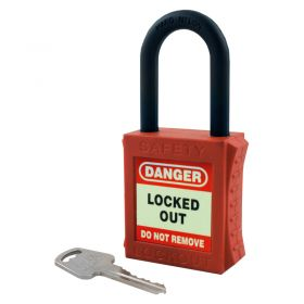 Fully Insulated Nylon Padlock - Key Different