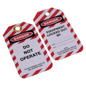 Do Not Operate Lockout Tag Pack of 10