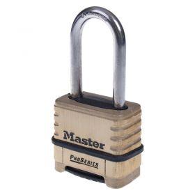 Masterlock 1175 Brass Combination Padlock - Front