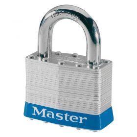Masterlock 5EURD Laminated Steel Padlock w/ Key Choice