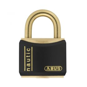 ABUS T84MB/20BLACK Nautic Brass Padlocks - Black