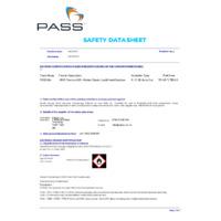 WHO Formula 80% Alcohol Grade Liquid Hand Sanitiser - Datasheet