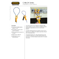 Martindale CABLOK Series of Adjustable Cable Lockouts - Datasheet